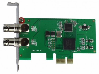 2CH 1080P AHD PCI-E Capture Card